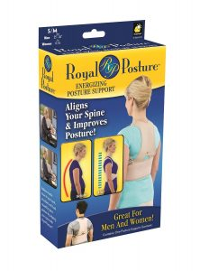 Royal Posture by BulbHead (S/M) - The Amazing Back Support Belt that Aligns Your Spine