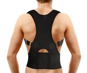 Medical-Grade Adjustable Magnetic Posture Support Back Brace