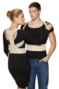 BeFit24 - (Size 2) Posture Corrector for Women, Men & Kids - Kyphosis Brace for Spine Alignment
