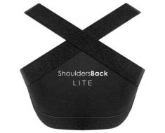 EquiFit Shouldersback Posture Support Lite Medium Black